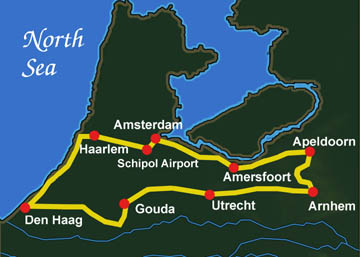 Central Holland Route